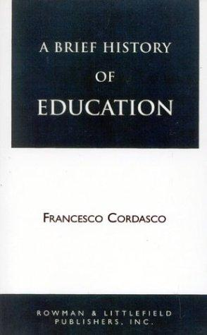 Download A Brief History of Education