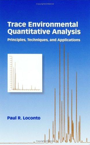 Download Trace Environmental Quantitative Analysis