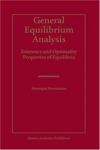Download General Equilibrium Analysis