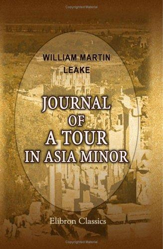 Download Journal of a Tour in Asia Minor
