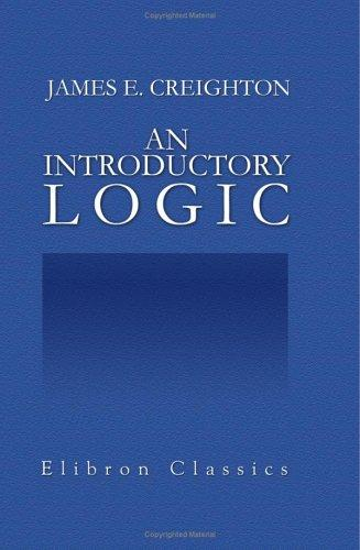An Introductory Logic