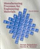 Manufacturing processes for engineering materials.
