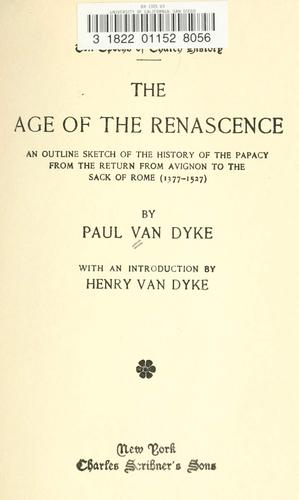 The age of the renascence