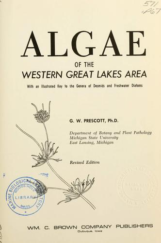 Algae of the western Great Lakes area