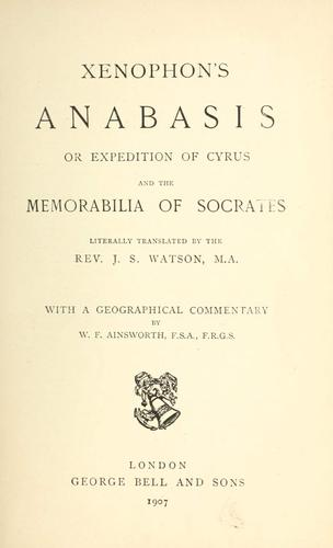 Download The Anabasis