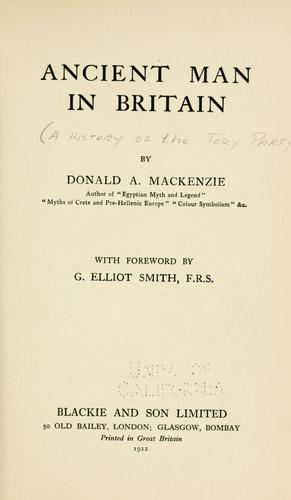 Download Ancient man in Britain