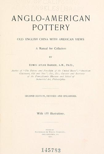 Anglo-American pottery