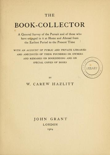 The book collector.