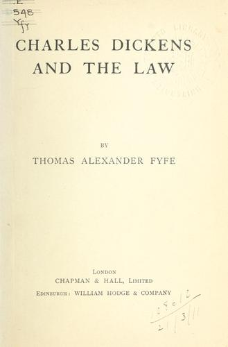 Download Charles Dickens and the law