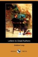 Download Letters to Dead Authors (Dodo Press)