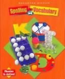 Houghton Mifflin Spelling and Vocabulary