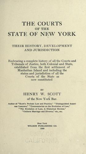 Download The courts of the state of New York