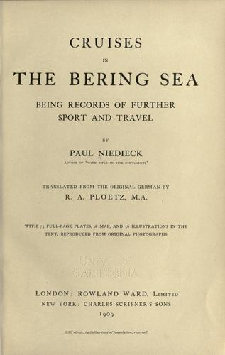Download Cruises in the Bering Sea