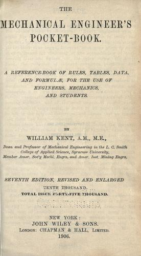 Download The Mechanical engineer's pocket-book