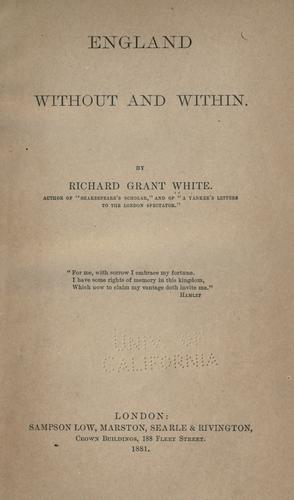 Download England without and within.