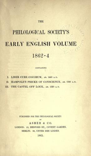On early English pronunciation