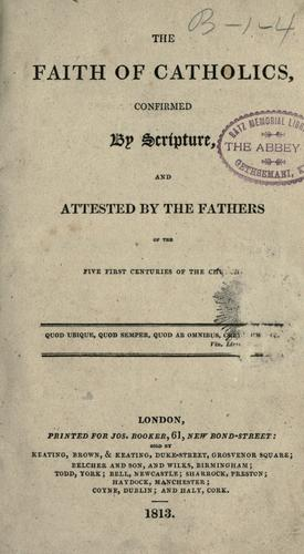 Download The faith of Catholics