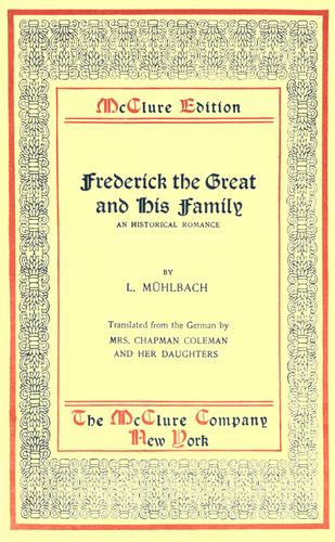 Download Frederick the Great and his family