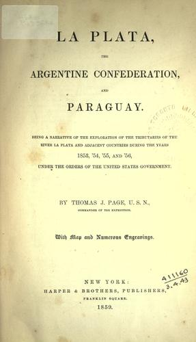 Download La Plata, the Argentine Confederation and Paraguay