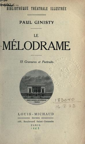 Download Le mélodrame.