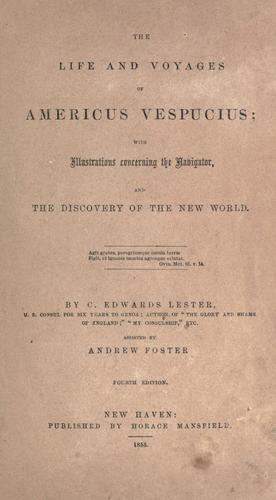 The life and voyages of Americus Vespucius