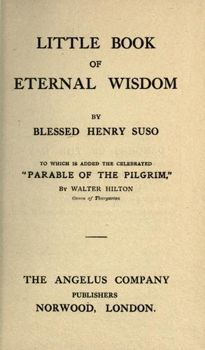 Download A little book of eternal wisdom