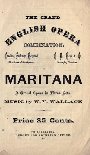 Download Maritana