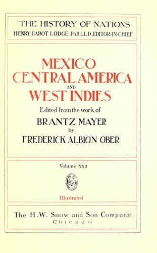 Mexico, Central America, and West Indies