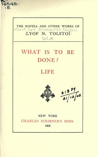 The novels and other works of Lyof N. Tolstoï.
