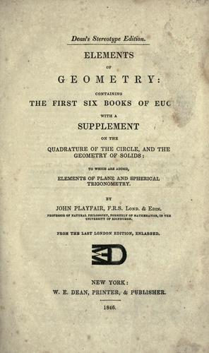 Download Elements of geometry