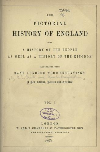 Download The pictorial history of England