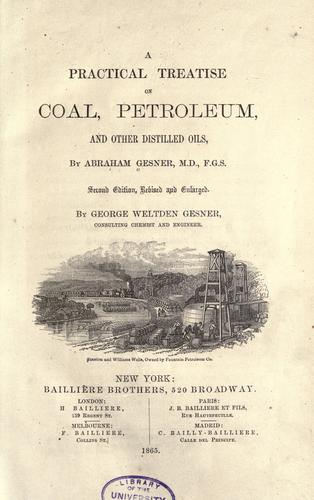 Download A practical treatise on coal, petroleum, and other distilled oils