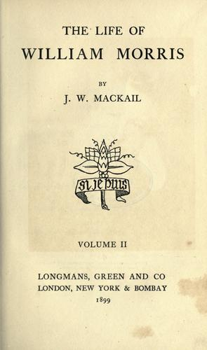 Download The life of William Morris.