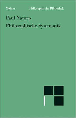 Download Philosophische Systematik