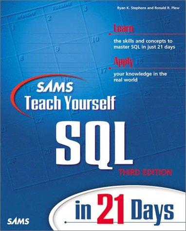 Download Sams teach yourself SQL in 21 days