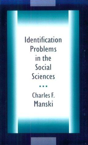 Download Identification Problems in the Social Sciences