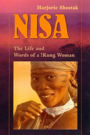 Nisa: The Life And Words Of A !Kung Woman PDF Download