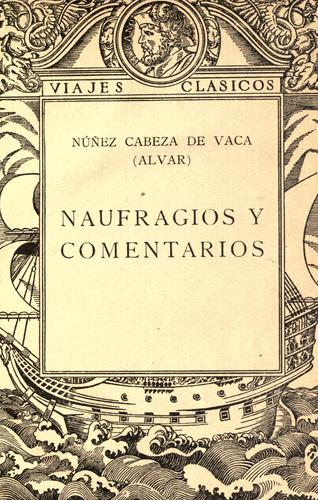 Download Naufragios y Comentarios
