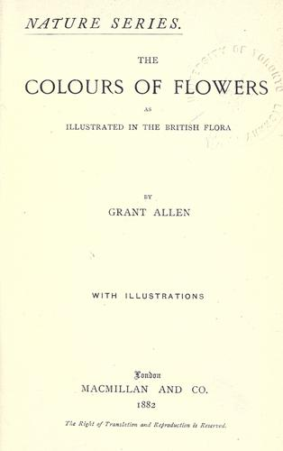 Download The colours of flowers