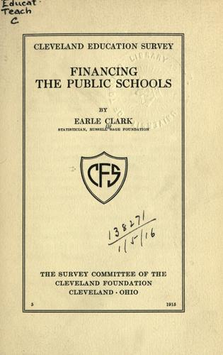 Download Financing the public schools.