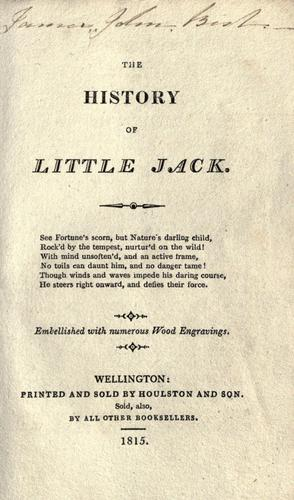 The history of little Jack …