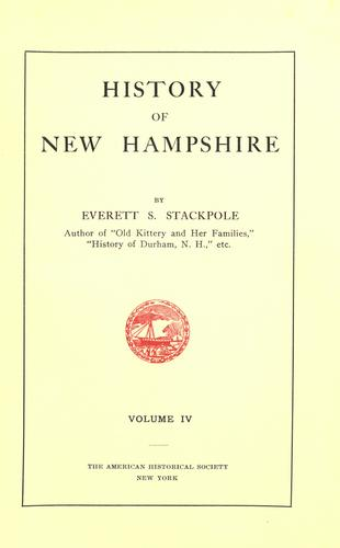 Download History of New Hampshire