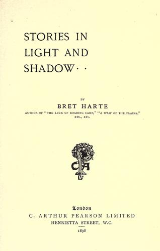 Download Stories in light and shadow