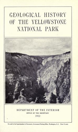 Download Geological history of the Yellowstone National Park
