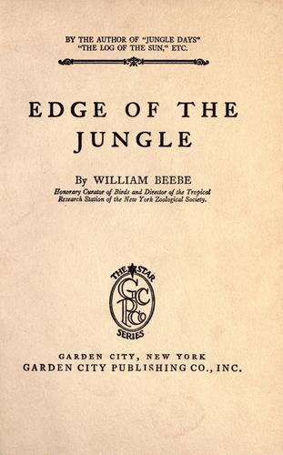 Download Edge of the jungle
