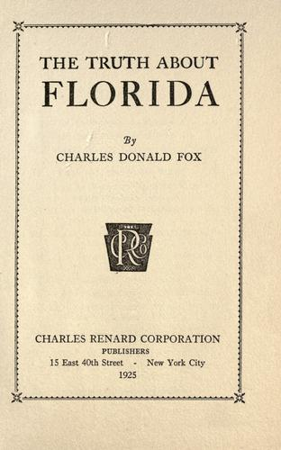 Download The truth about Florida