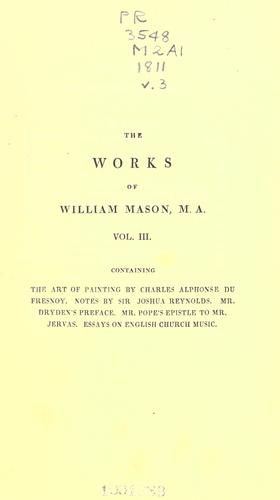The works of William Mason.