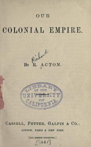 Download Our colonial empire…