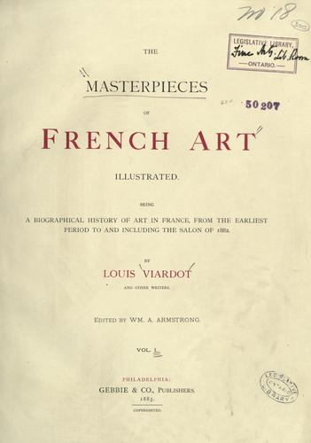 Download The masterpieces of French art illustrated