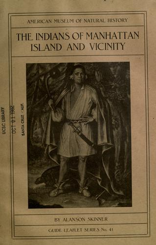 Download The Indians of Manhattan island and vicinity